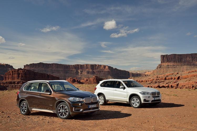 BMW X5 нынешнего поколения