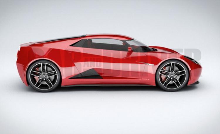 Возможный внешний вид нового Chevrolet Corvette