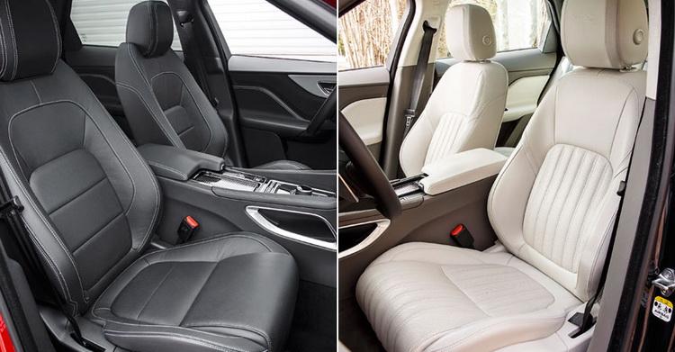 В интерьере много общего с седанами ХЕ и XF, но не с моделями Land Rouer. Да, клавиши режимов Adaptive Surface Response мало отличаются от Terrain Responce в Discovery Sport, но это именно та «родинка», которой Jaguar стесняться не станет.