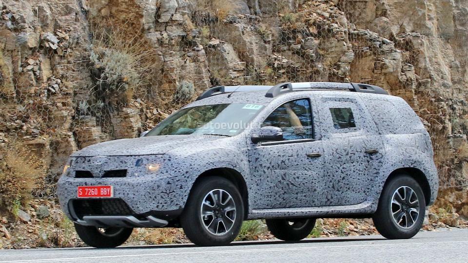 Renault тестирует агрегаты будущей версии в кузове нынешнего «Дастера».