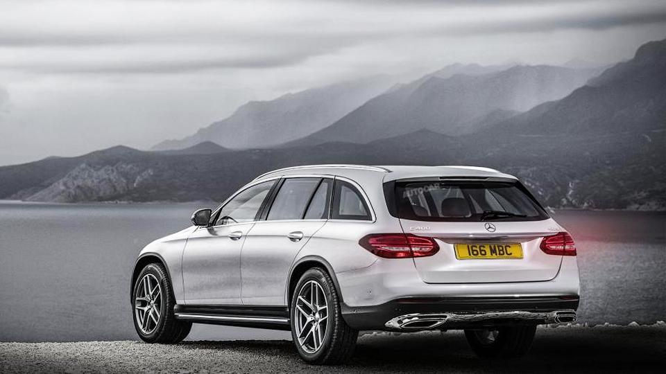 Предполагаемый облик Mercedes-Benz E-Class Estate All Terrain