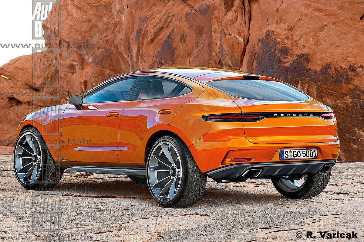 Предполагаемый внешний вид Porsche Sahara