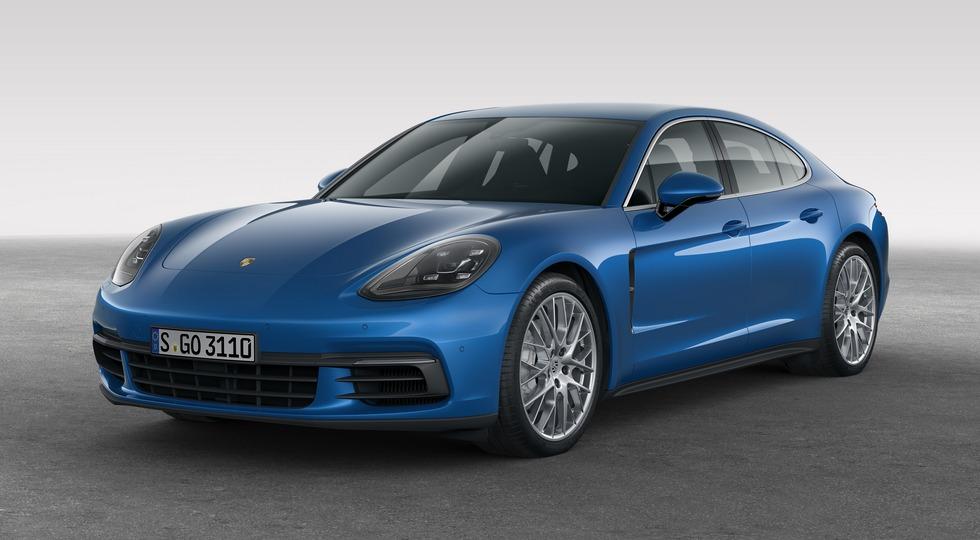 Новый Porsche Pamamera фастбэк