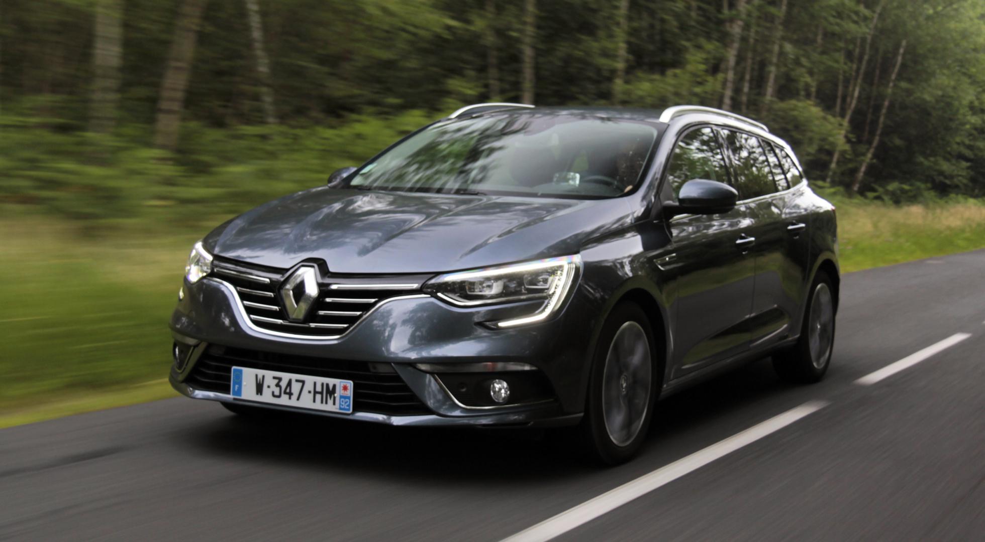 Новый Renault Megane с кузовом универсал