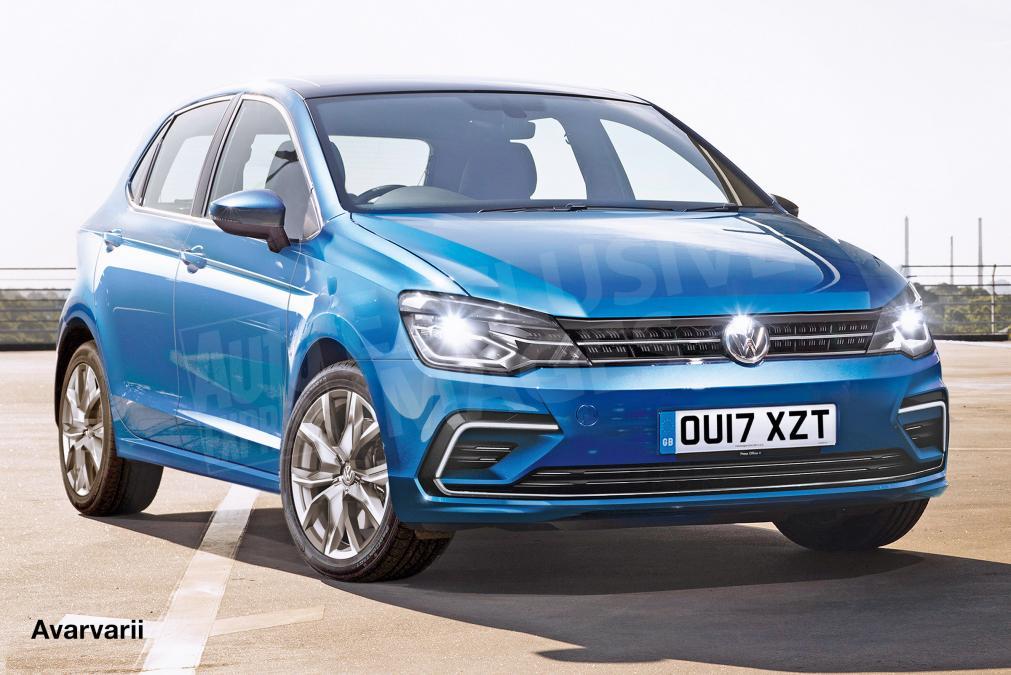 Предполагаемый облик нового VW Polo