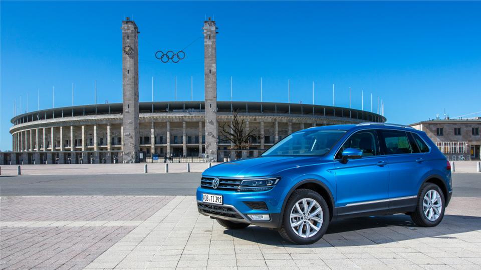 Обычный VW Tiguan нового поколения
