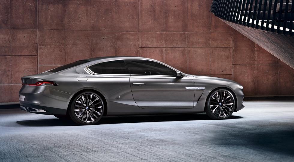 Концепт BMW Gran Lusso Coupe, по мотивам которого может быть выполнен BMW 8 Series