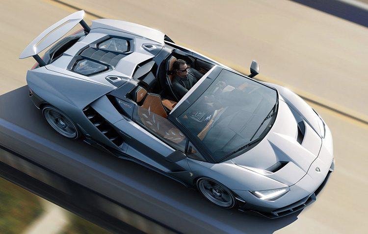 Lamborghini представила родстер Centenario