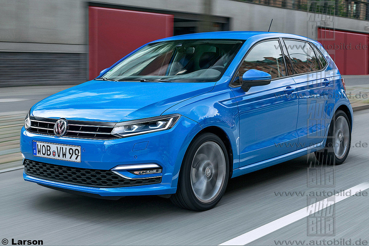 Предполагаемый внешний вид следующего VW Polo