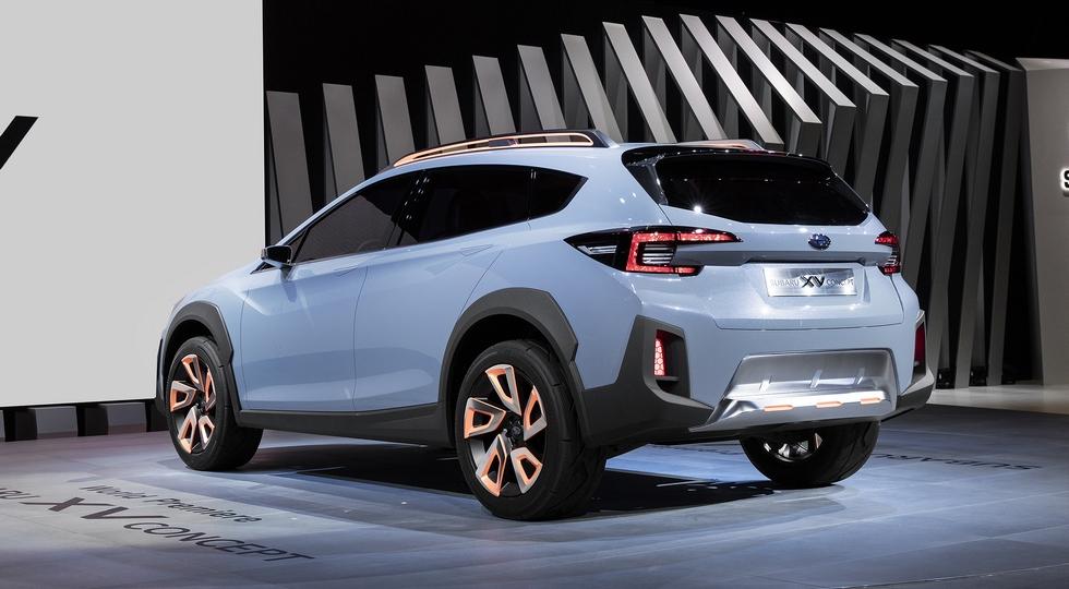 Всередине 2017-ого концерн Субару представит вседорожный автомобиль XV обновленного поколения