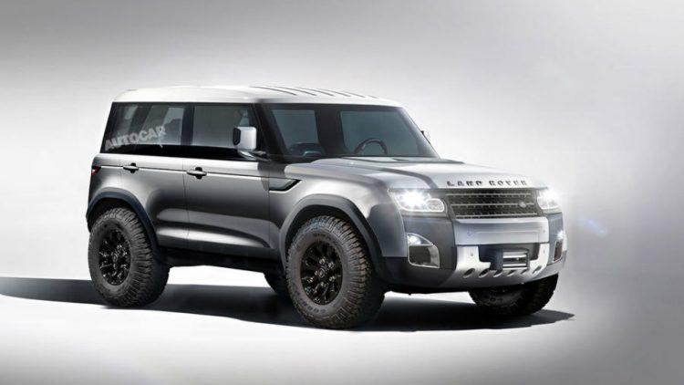 Стало известно, когда появится новый Land Rover Defender