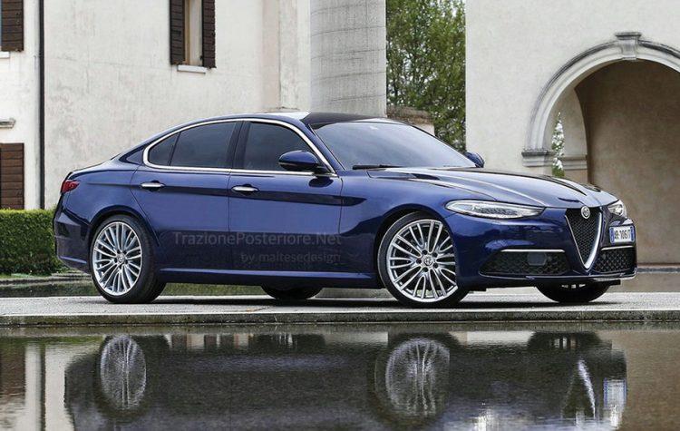 Новый седан Альфа Ромео Giulia стал доступен для продаж в Великобритании