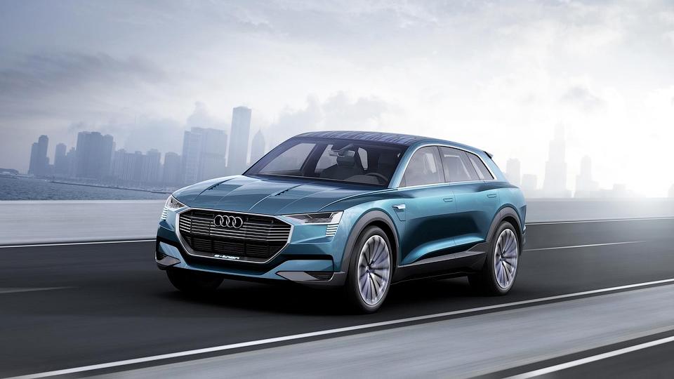 Концептуальный кроссовер Audi e-tron quattro
