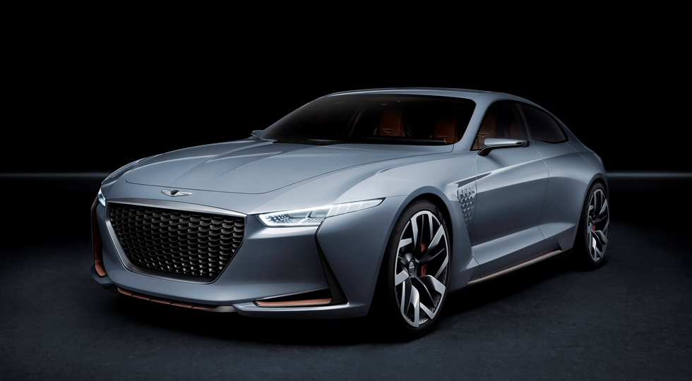 Genesis New York Concept - прообраз Genesis G70