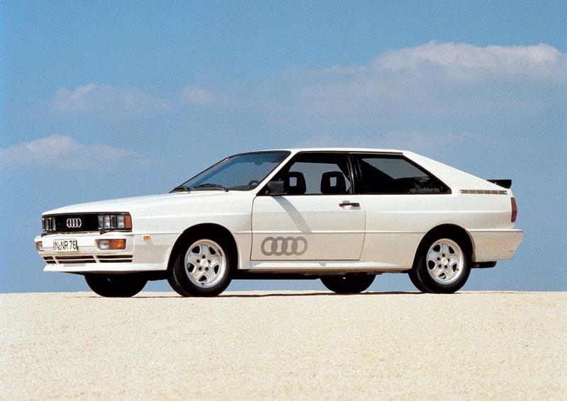 Как это было в 80-х: Audi quattro 1980 года был оснащен постоянным полным приводом с полым вторичным валом, внутри которого проходил вал привода передней оси от центрального дифференциала с блокировкой.