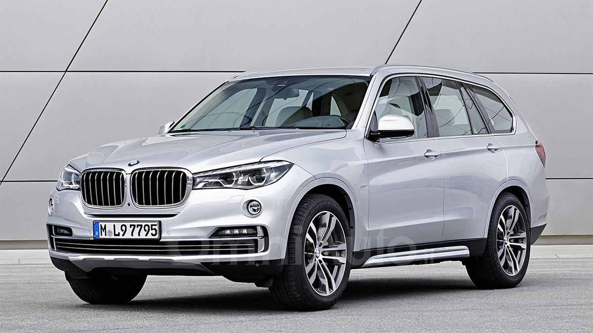 Предполагаемый облик BMW X7