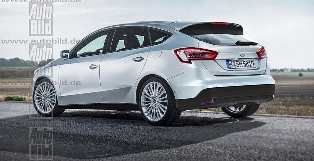 Ожидаемый облик обновленного Ford Focus