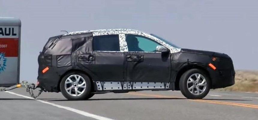 Тестовый прототип Chevrolet Traverse