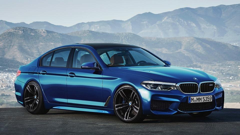 Предполагаемый облик новой BMW M5