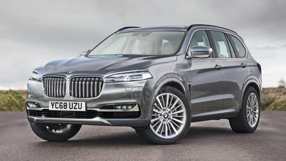 Возможный облик BMW X7