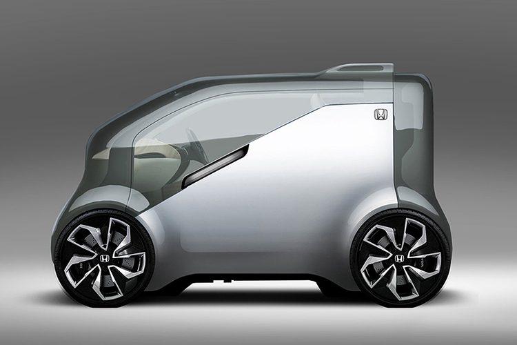 Хонда разработала концепт-кар NeuV