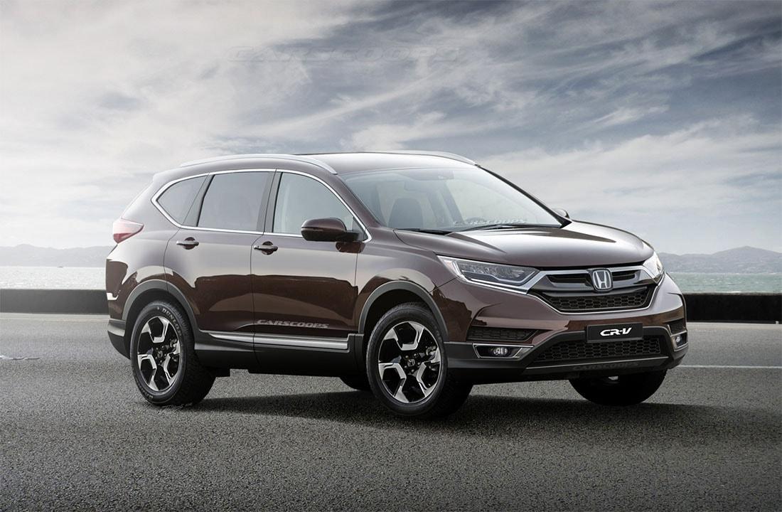 Хонда срв 2018 года новая модель фото цена в тюмени