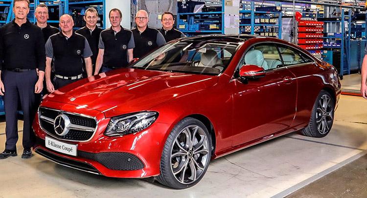 Производство Mercedes E-Class Coupe стартовало в Бремене