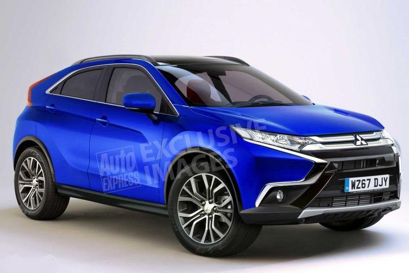 Предполагаемый облик Mitsubishi Eclipse 2018