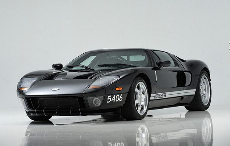 Прототип спорткара Ford GT продадут с аукциона