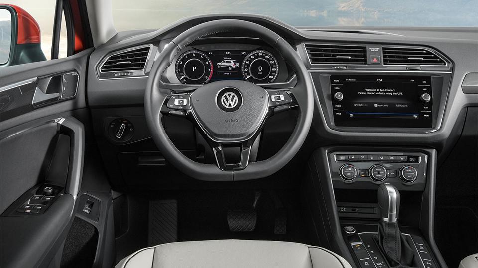 Специалисты поведали, чем житель америки VW Tiguan отличается откитайца иевропейца