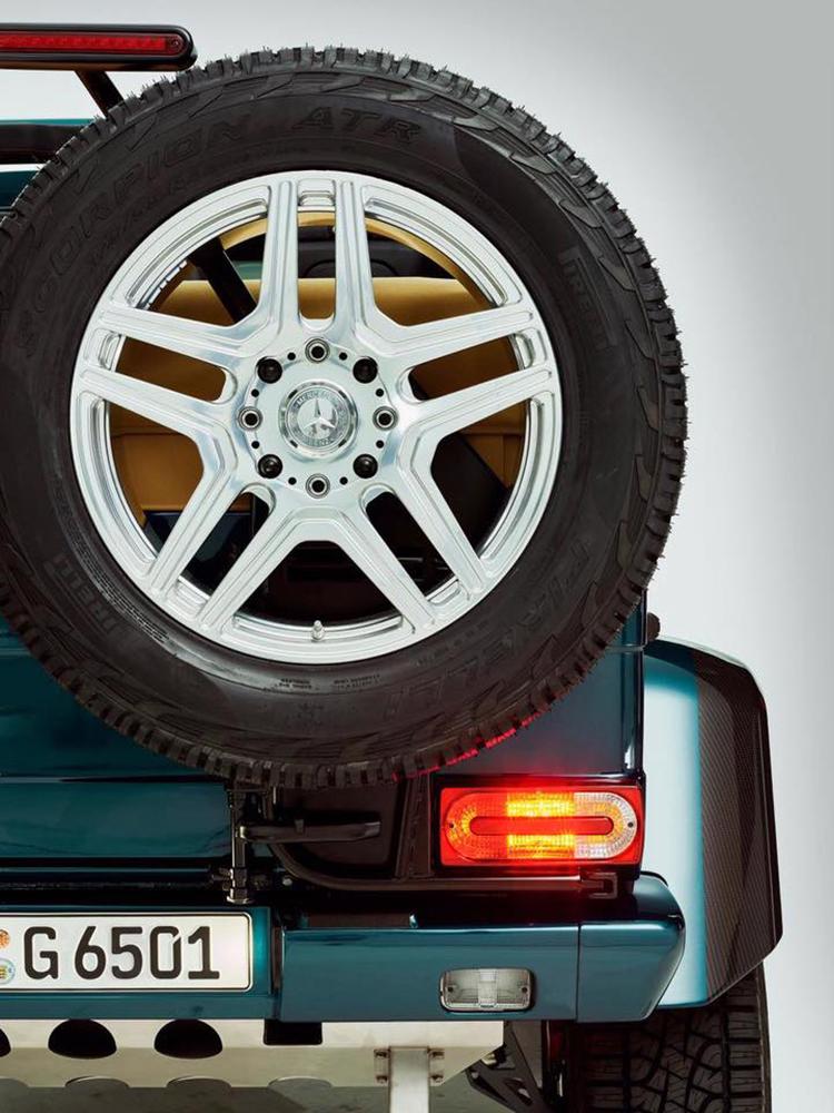 Mercedes-Benz работает над новой моделью G-класса