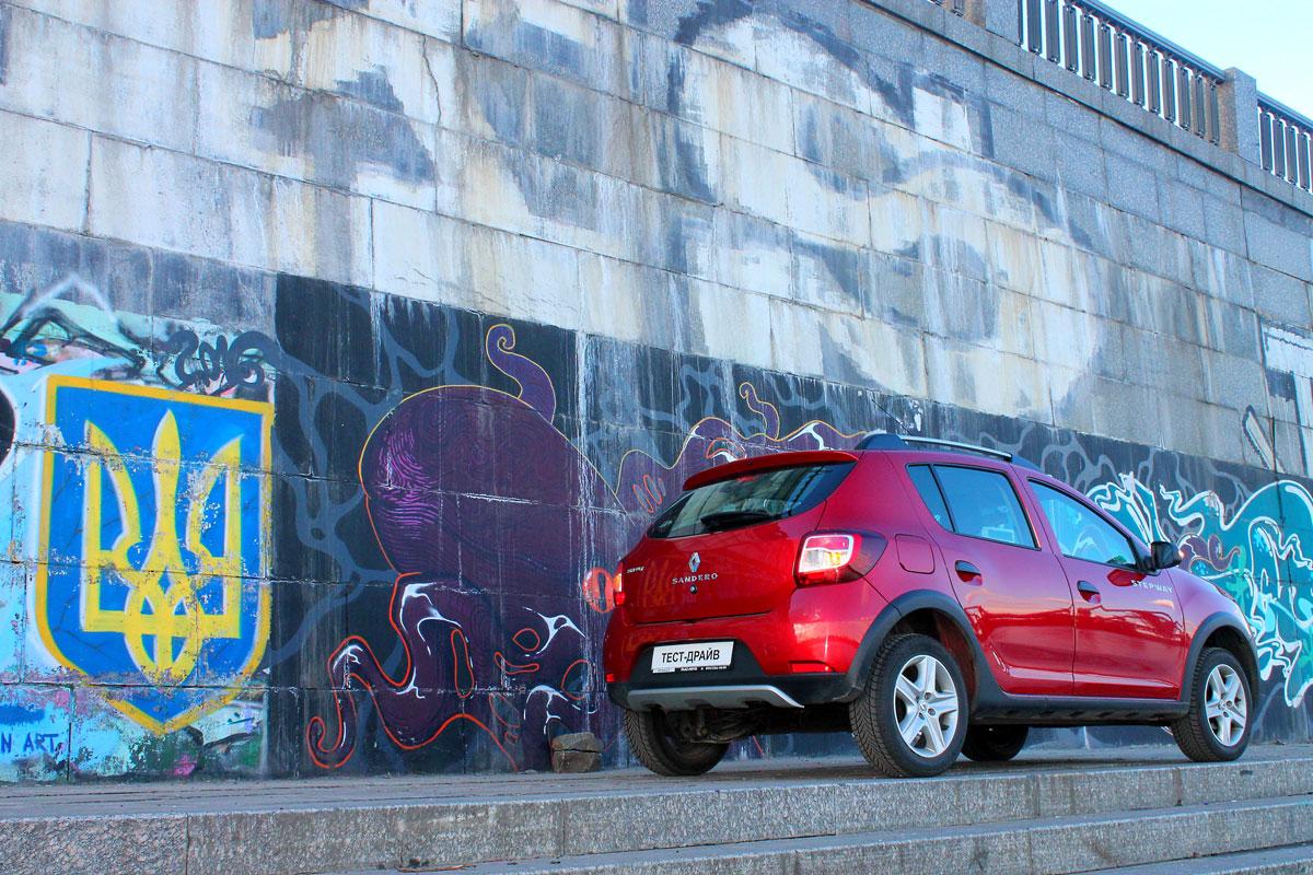 Тест-драйв Renault Sandero Stepway с автоматической коробкой