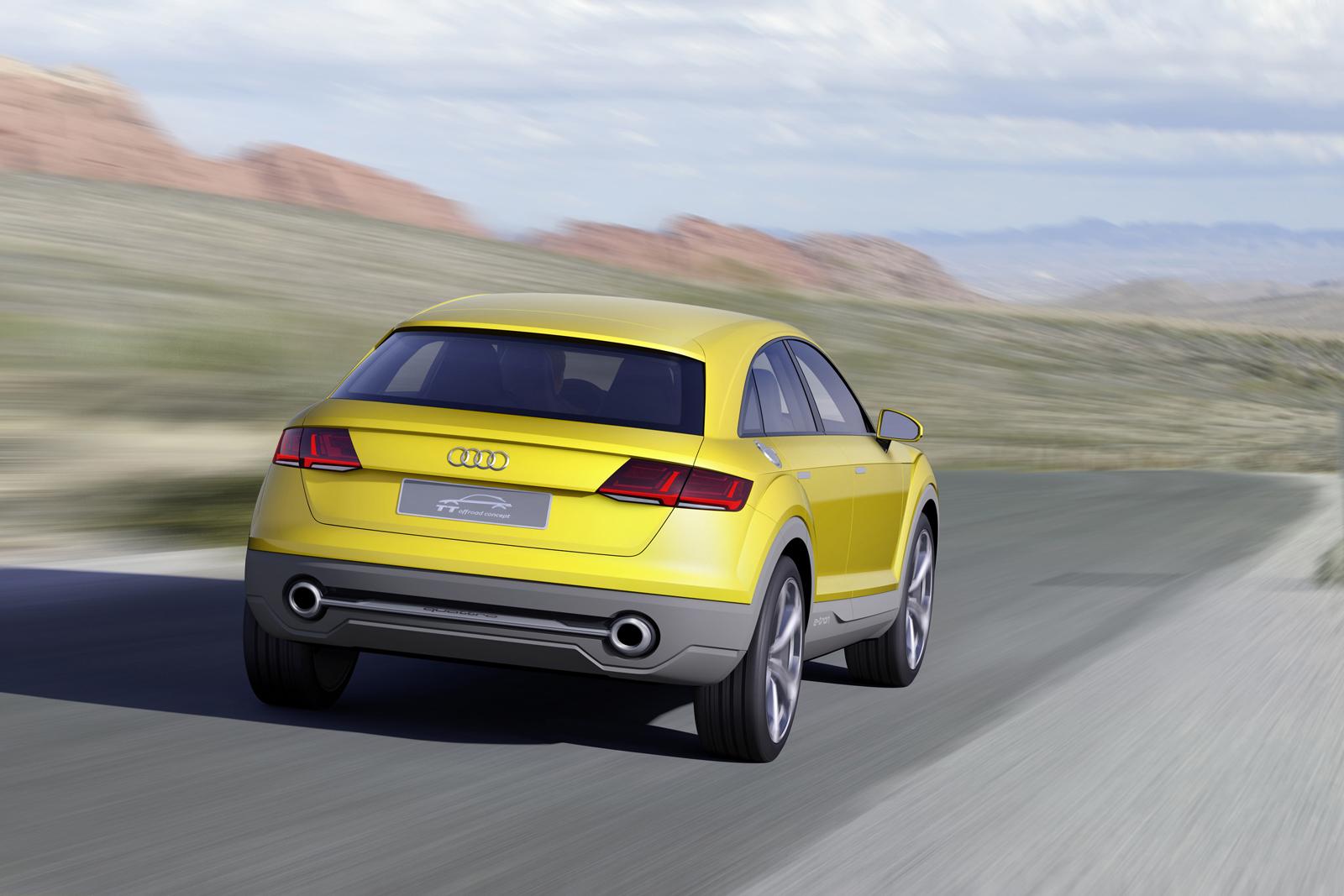 Концепт Audi TT Offroad