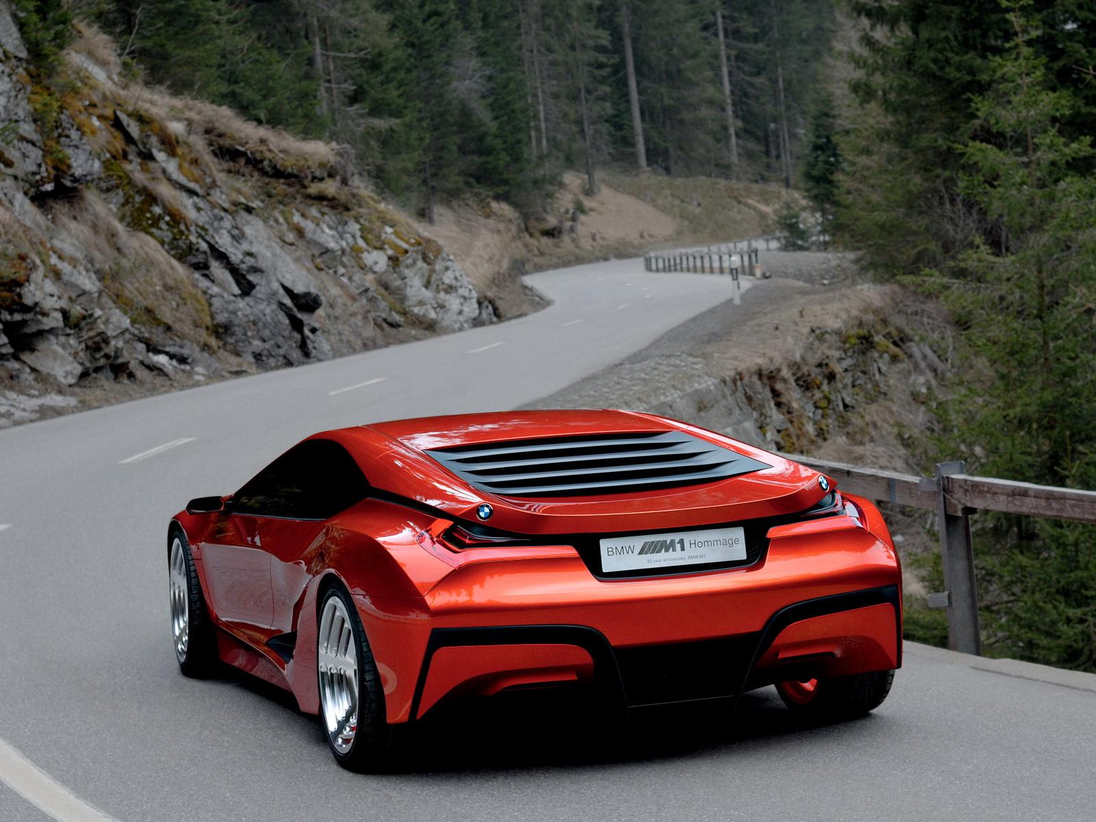 Возможный облик нового BMW M1