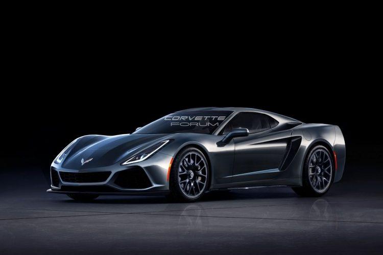 Раскрыты особенности спорткар Шевроле Corvette C8
