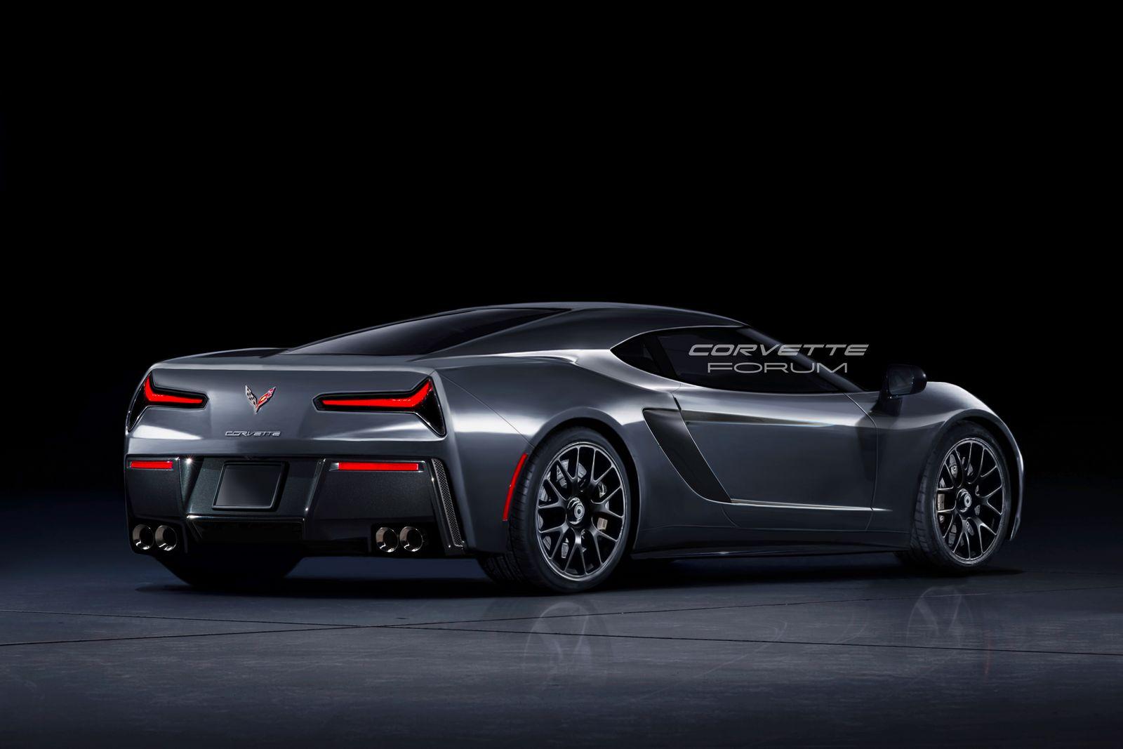 <b>Новый</b> Chevrolet Corvette C8: первые полноценные изображения