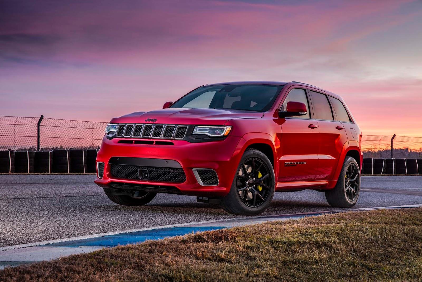ВНью-Йорке Jeep покажет экстремальный Grand Cherokee