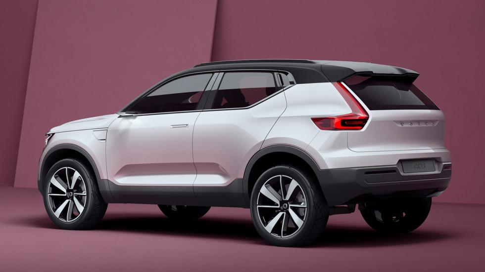 Концепт Volvo Concept 40.1