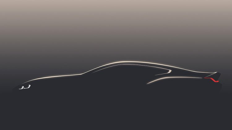 Ране опубликованный тизер новой BMW 8 Series