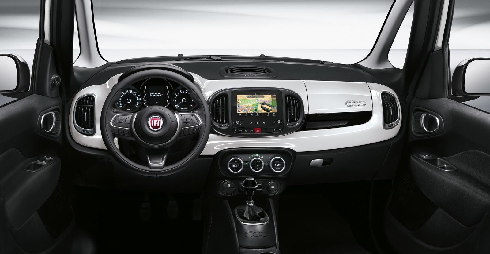 Фиат провёл самое крупное обновление для компактвэна 500L