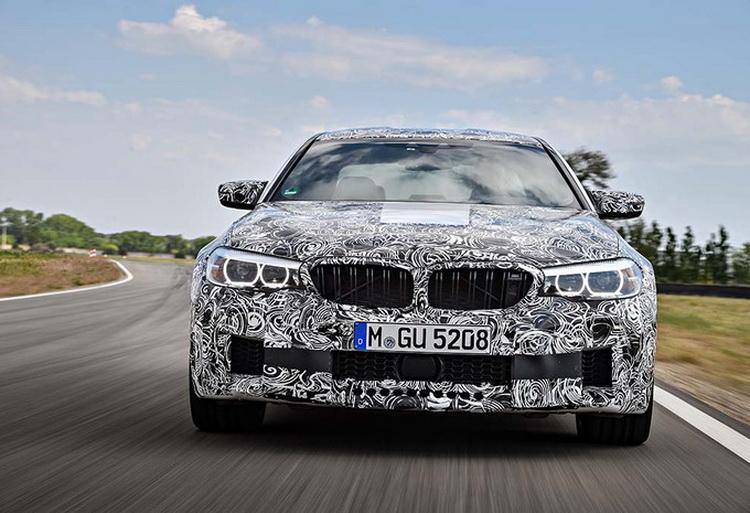 Новый седан BMW M5 получит мощный мотор иинтеллектуальную систему полного привода