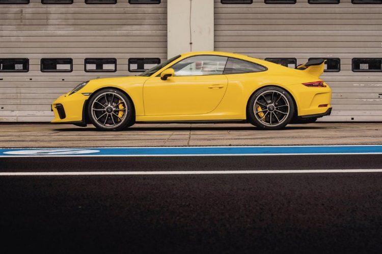 Обновленный Порше 911 GT3 заметно улучшил собственный рекорд