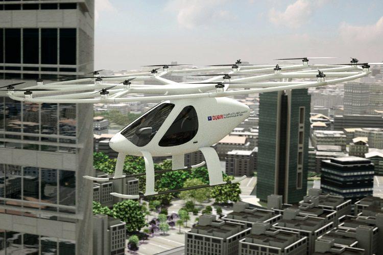 Уже в этом году в Дубае полетит первое такси