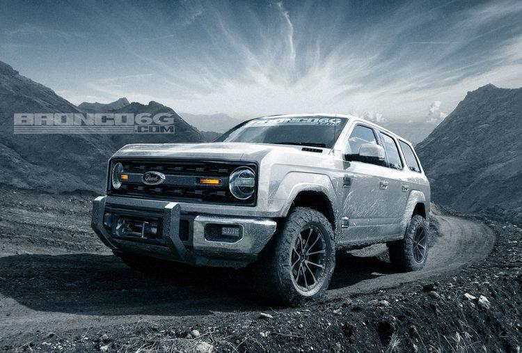 Новый Форд Bronco получит 325-сильный мотор