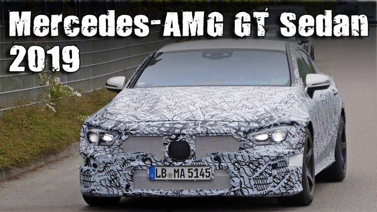 Седан AMGGT будет самым мощным автомобилем Мерседес-Бенс