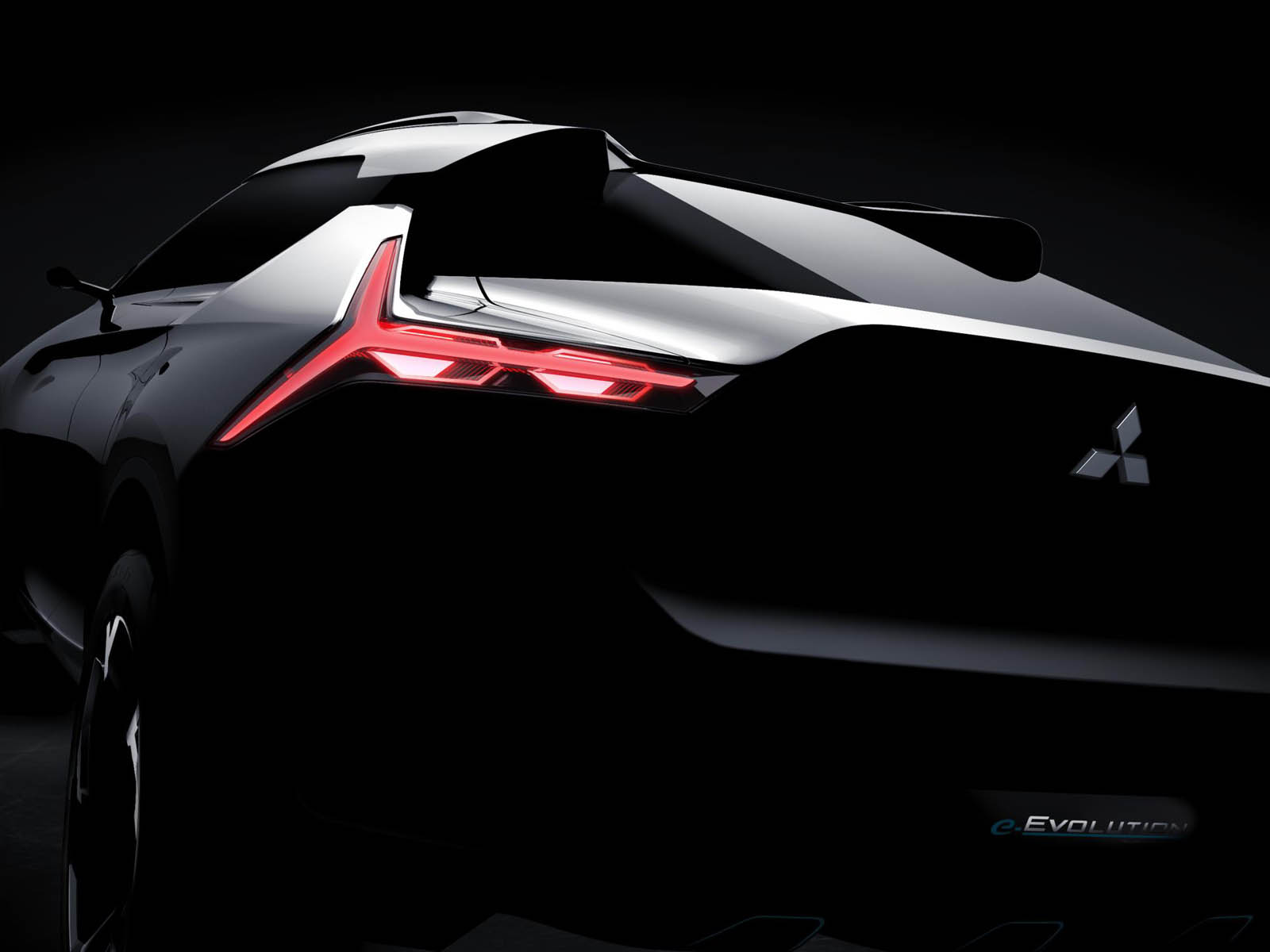 Митсубиши представит вТокио концептуальный автомобиль e-Evolution