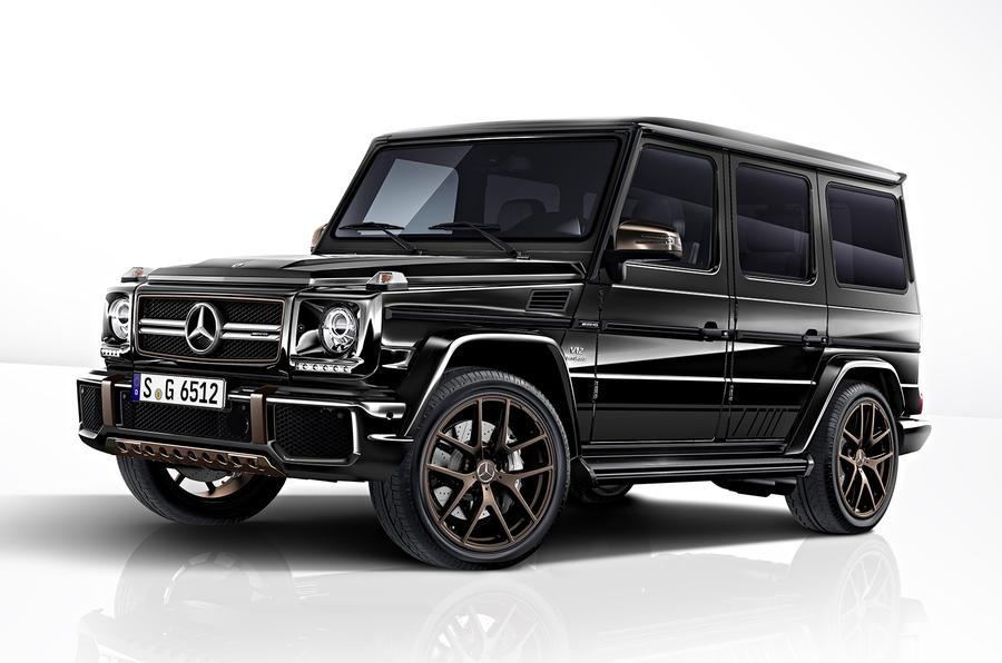 Mercedes-AMG G 65 Final Edition;Kraftstoffverbrauch kombiniert: 17 l/100 km, CO2-Emissionen kombiniert: 397 g/km* Mercedes-AMG G 65 Final Edition;Fuel consumption, combined: 17 l/100 km; combined CO2 emissions: 397 g/km*