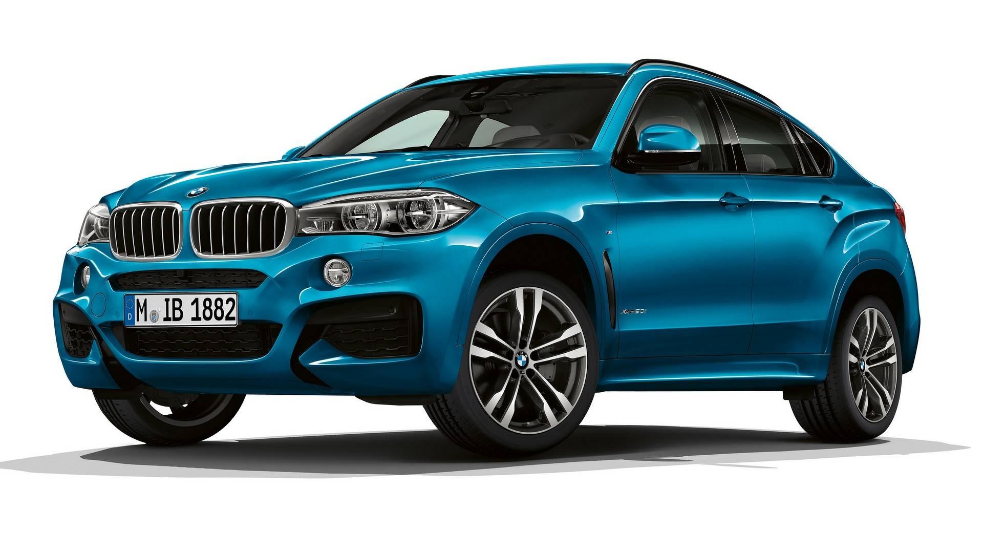 BMW анонсировал версии X5 Special и X6 M Sport Editions