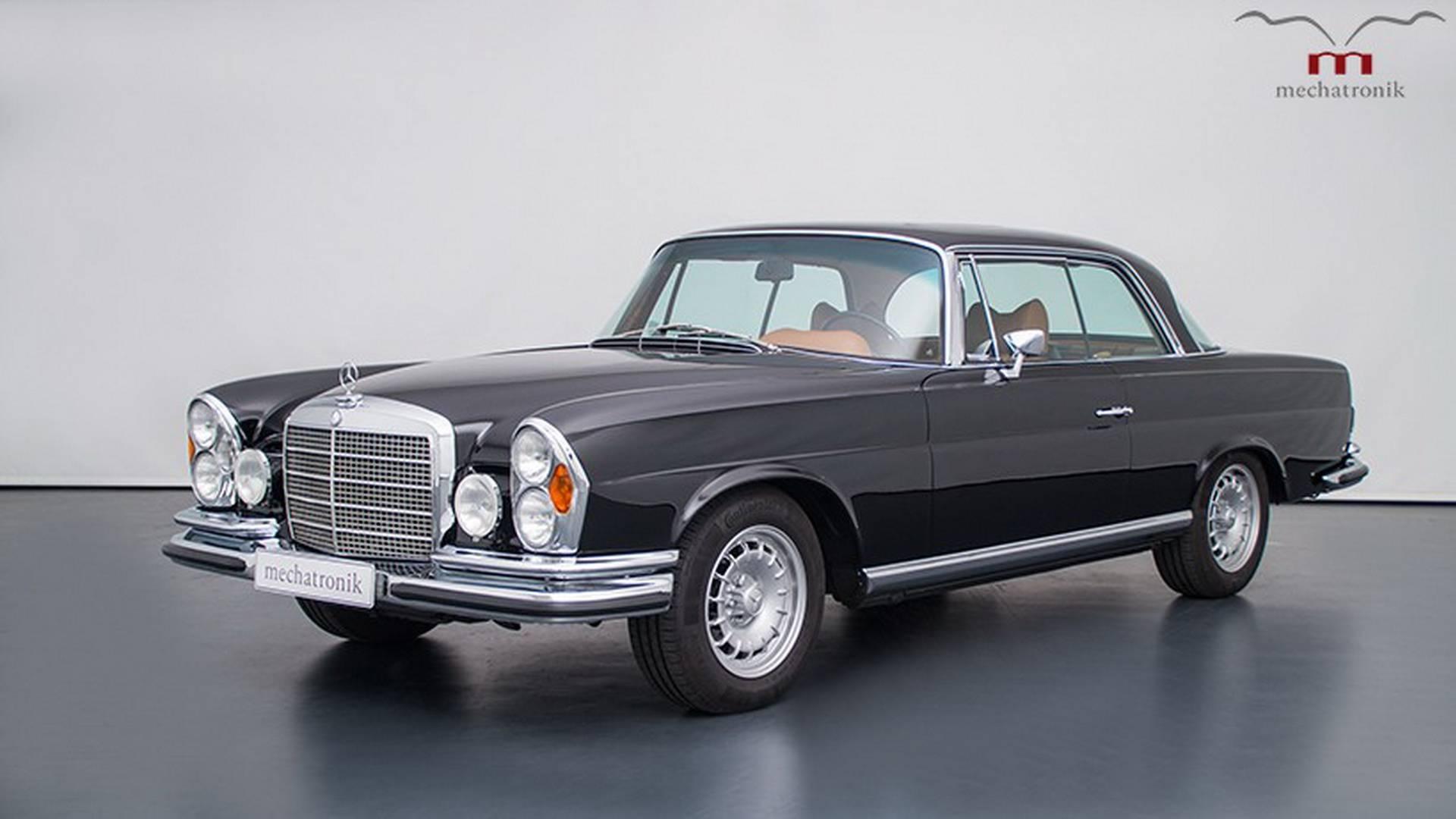 Нараритетный Mercedes W111 установили мощнейший мотор отAMG