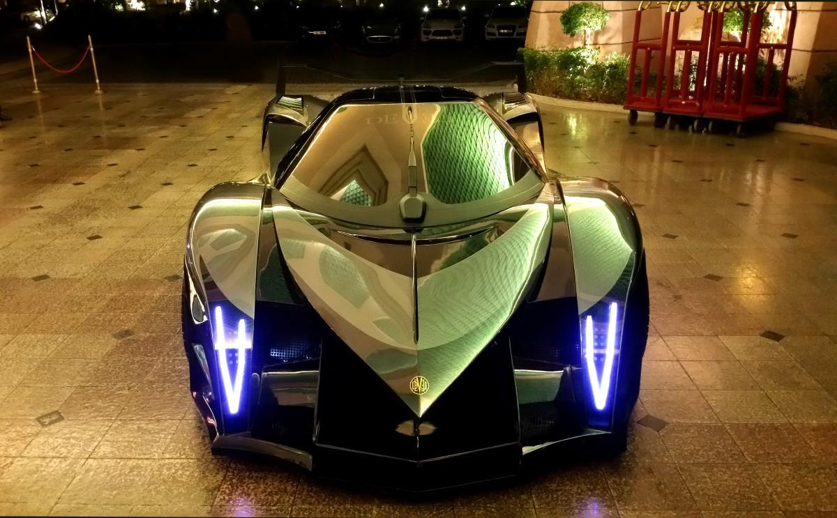 ВДубае создадут самый быстрый суперкар вмире мощностью 5 000 л.с